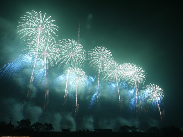 Tsuchiura All-Japan Fireworks Competition, Ibaraki Pref.