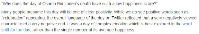 Why bin Laden's death received low happiness ratings: http://hedonometer.org/about.html