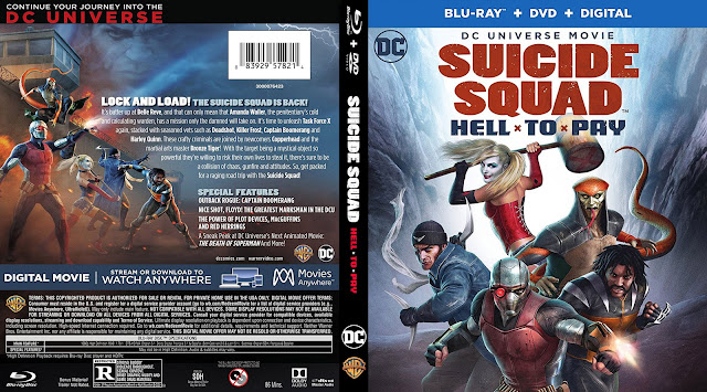 Suicide Squad Hell To Pay Bluray Cover