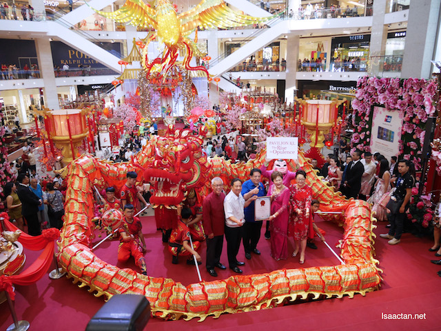 Presented with the Malaysia Book of Records for the 'Largest Phoenix Replica' in Malaysia