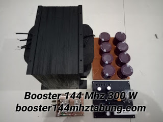 Travo High Voltage Booster 144 Mhz Tabung 300 W