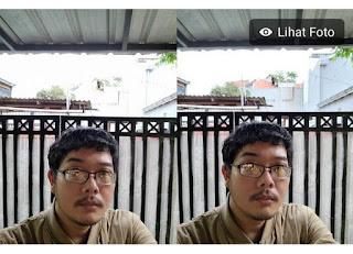 Hasil foto kamera Samsung Galaxy S21 plus selfie