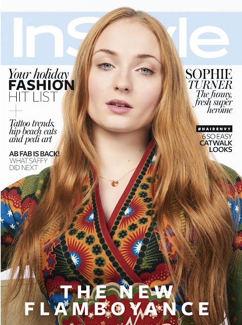 Actress, @ Sophie Turner in Instyle Magazine, July 2016 Issue