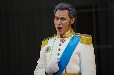 Andrei Valenty as Prince Gremin in Tchaikovsky's Eugene Onegin - Belarus Opera at Birgitta Festival 2016 - photo Heiti Kruusmaa