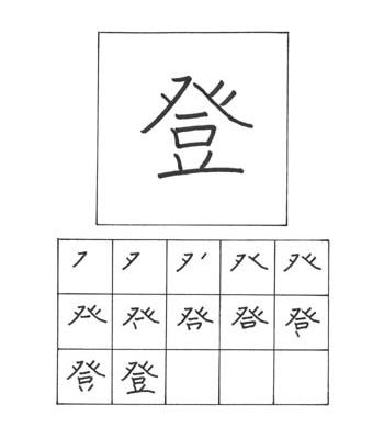 kanji mendaki