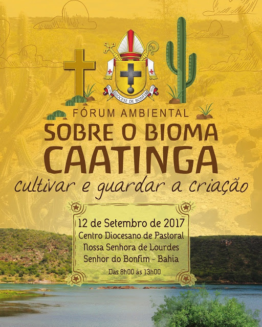 Luta: Dom Francisco recebe prefeitos da Diocese de Bonfim nesta terça para Fórum Ambiental sobre Bioma Caatinga