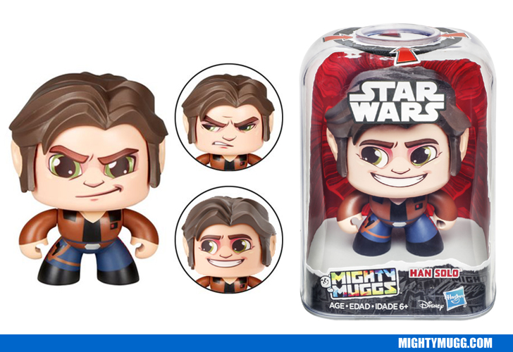 Han Solo Star Wars Mighty Muggs Wave 3 2018