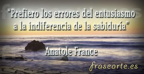 Citas celebres de Anatole France