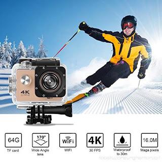 pro cam gopro 4k sport wifi action camera