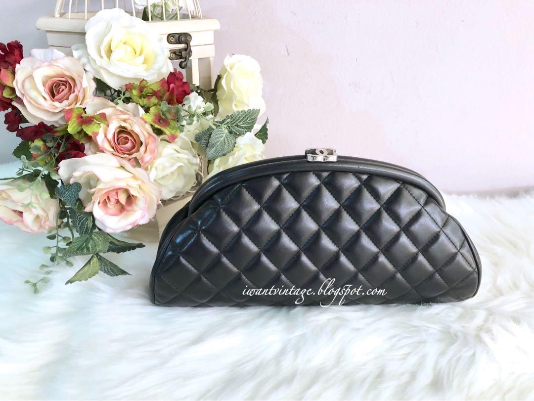 cbe89f107e94 I Want Vintage | Vintage Designer Handbags: Chanel Quilted Timeless ...