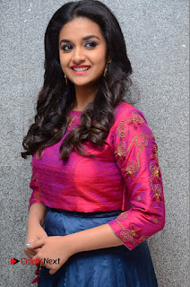 Actress Keerthi Suresh Stills at Remo Success Meet  0056.JPG