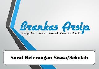 logo postingan contoh surat keterangan siswa atau sekolah