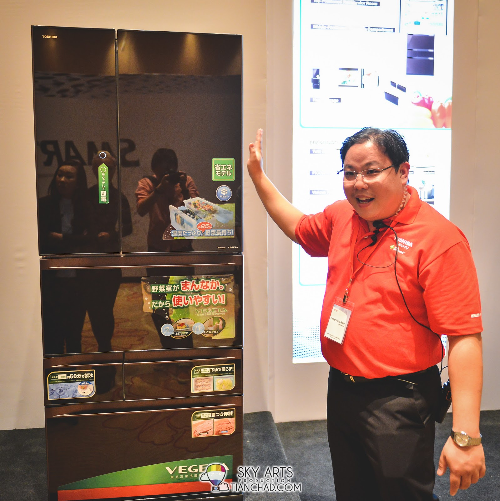 Toshiba's new INVERTER Multi-door Refrigerator G-Series (GR-G62FM, Net IEC 465L)
