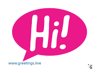 Transparent Png Start chatting with Hi!  Greetings live Images HD free