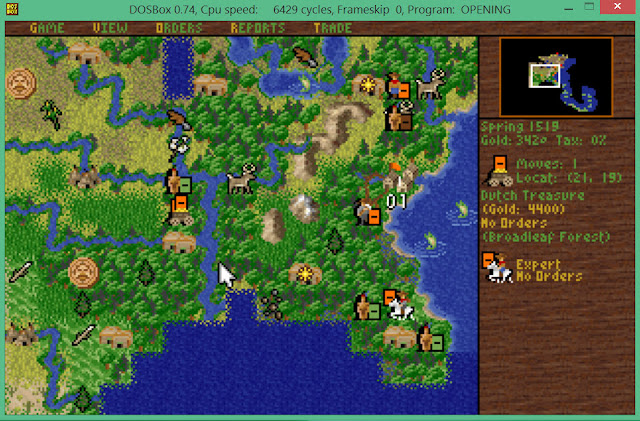 Treasure | Sid Meier's Colonization Screenshot
