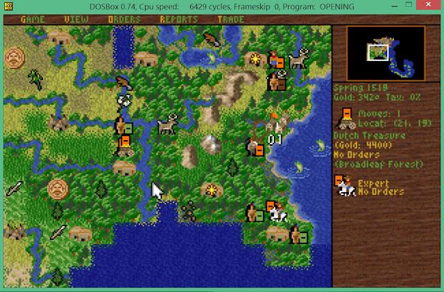 Treasure | Sid Meier's Colonization Screenshot