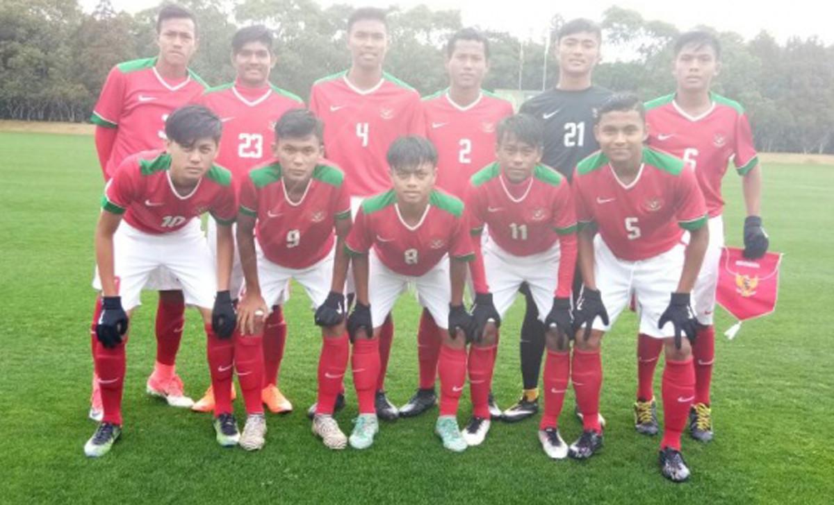 Indonesia U16 kalahkan Jepang U16  Berita Sport 99