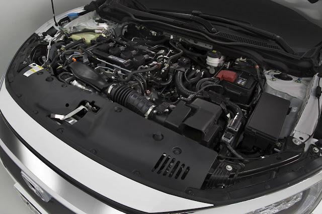 Novo Honda Civic 2017 Touring - motor 1.5 Turbo