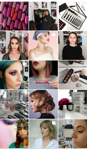 make up artist modena mutinart instagram