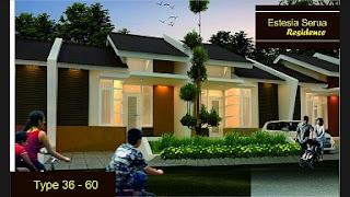 rumah murah serua, bojongsari new estesia residence