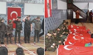 Ο Ερντογάν εκπαιδεύει τη νέα γενιά τζιχαντιστών στα τζαμιά που ελέγχει η Τουρκία στην Ευρώπη