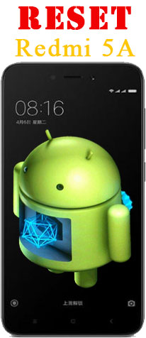 Cara Reset Ulang Xiaomi Redmi 5A Lupa Kunci