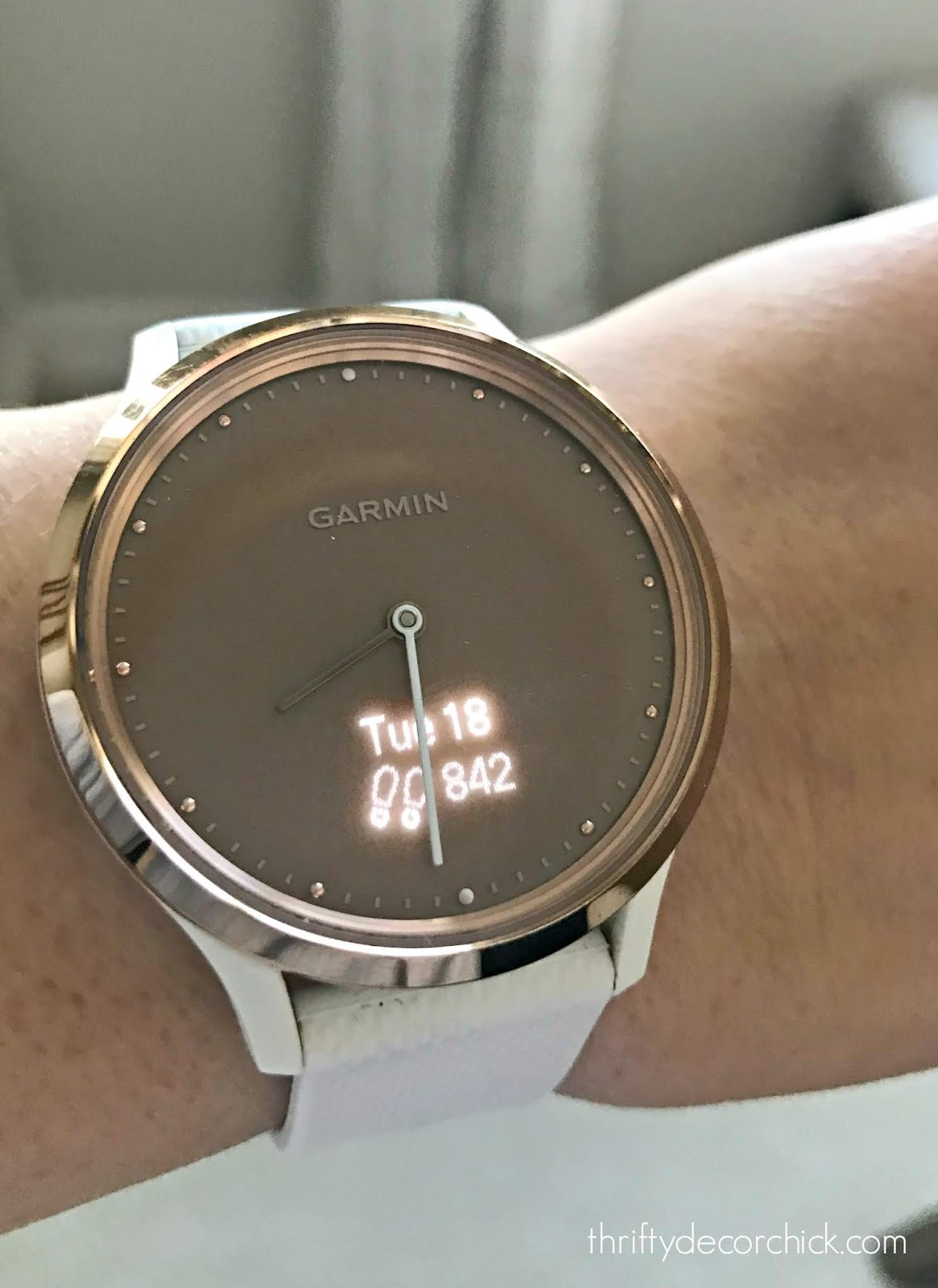 Pretty Garmin sports watch/tracker