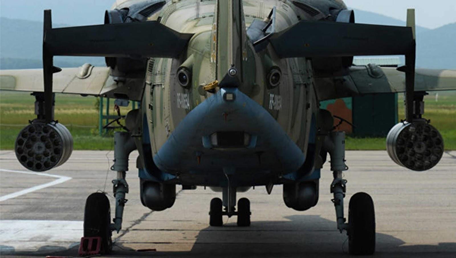 Keberadaan helikopter modern di militer Rusia semakin banyak
