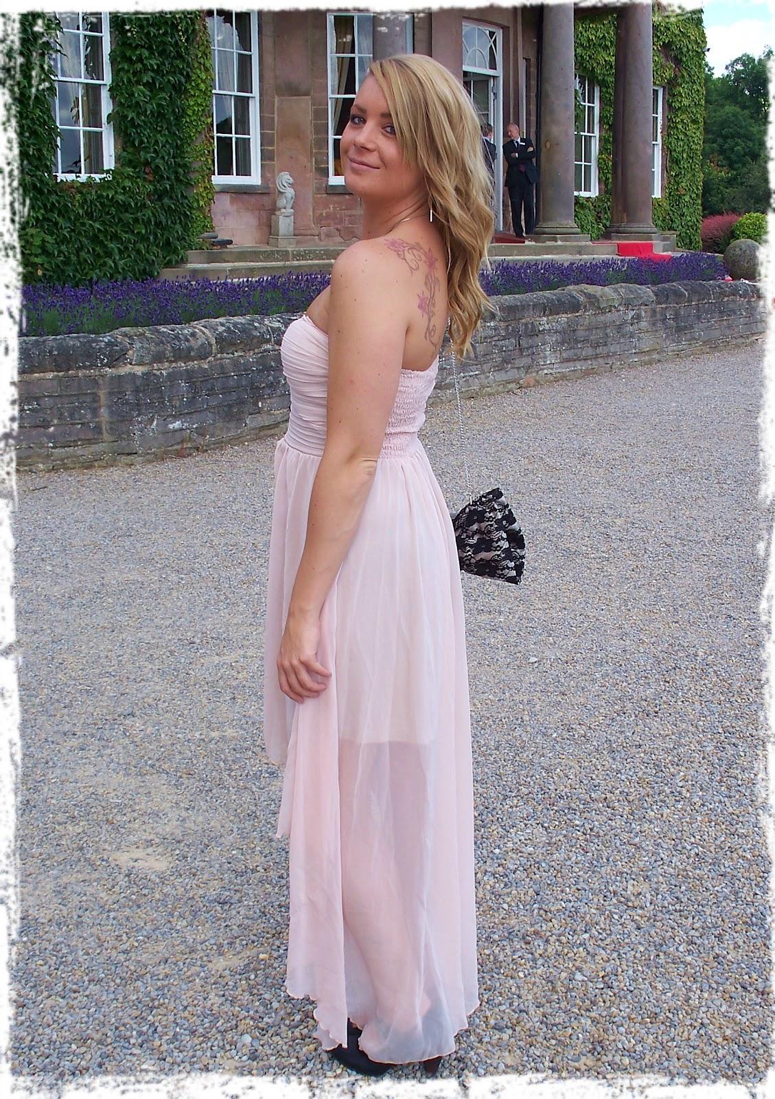 Light Pink Dress Wedding Guest