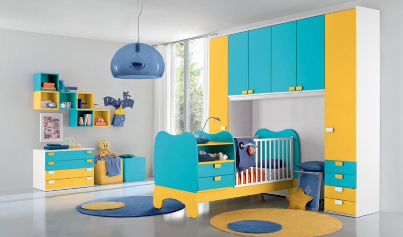 25 colorful and modern kids bedroom design ideas living rooms gallery - Colorful teen bedroom designs ...