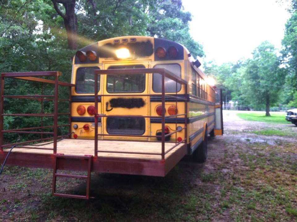 Sweatsville My Skoolie Bus Conversion