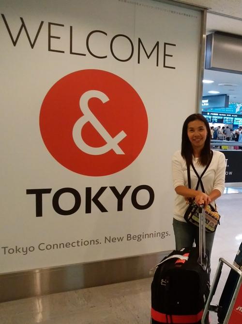 成田到着。 お疲れさまでした~!
