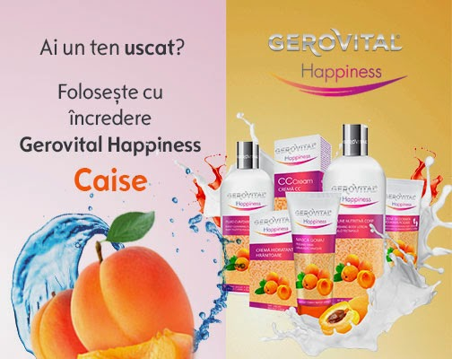 Gerovital Happines cu caise
