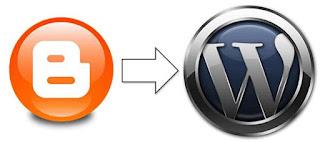 Blogger ke WordPress
