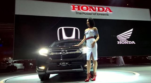 Honda CR-V Turbo 1.500 cc Ternyata Paling Banyak Diminati