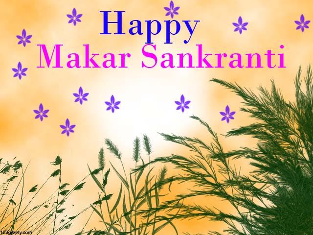 Makar Sankranti HD wallpaper for facebook
