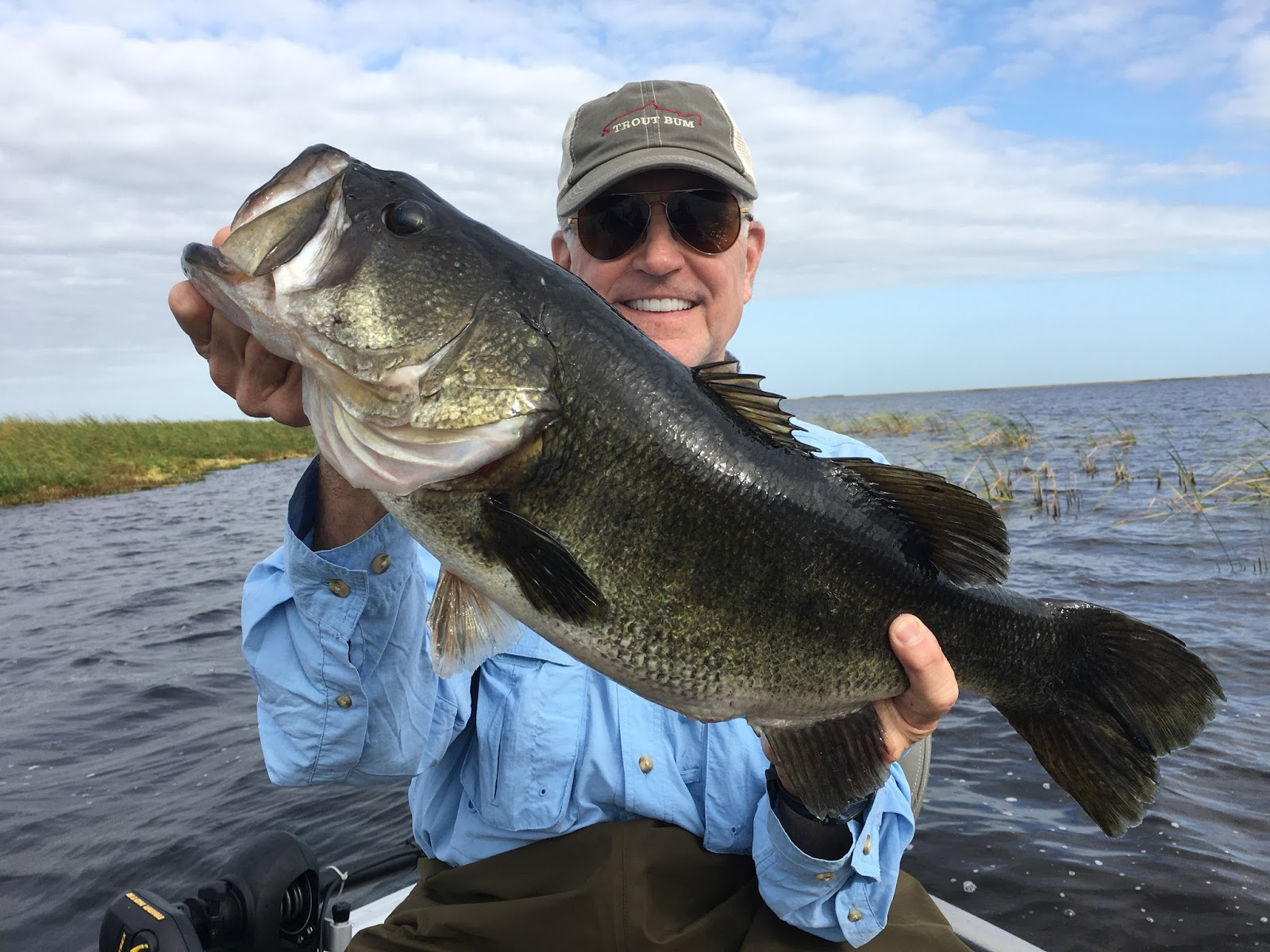 Okeechobee fishing reports 10 29 2017 lake okeechobee for Lake okeechobee fishing guides