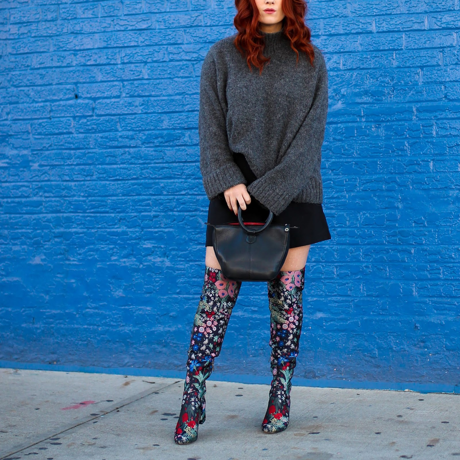 81a40b7eaf4 Statement Boots  Sam Edelman Embroidered Over-The-Knee Boots ...