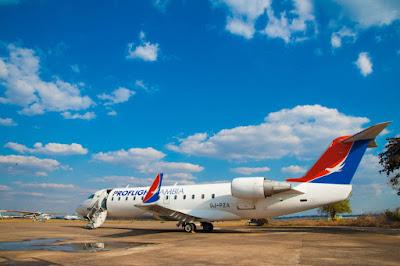 Proflight Zambia, Lusaka, Ndola, Zambia, flights, aviation