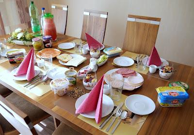 Himbeer - Pfirsich - Schichtdessert | Rezept | Nachtisch