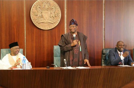 2 Photos: Nollywood Stars Visit President Jonathan At Aso Rock