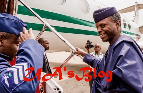 VP Osinbajo Jets Off To UK... Find Out His Mission