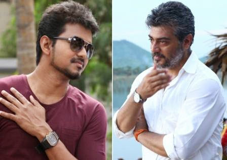 Actor Vijay: Ajiths concern for vijay who rides bike to shooting spot