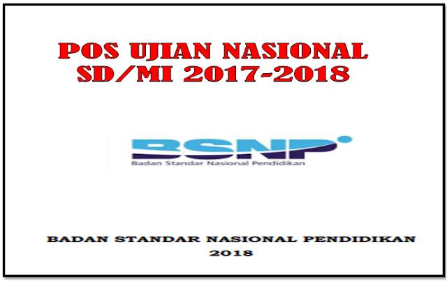 Download Pos Ujian Nasional SD/MI dan Kisi-Kisi Soal UN 2018