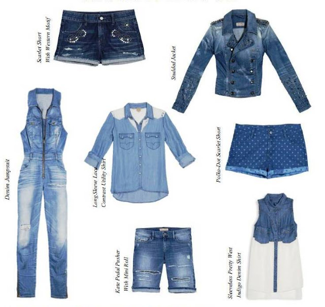 Guess Fall Winter 2013 Collection, blue jeans