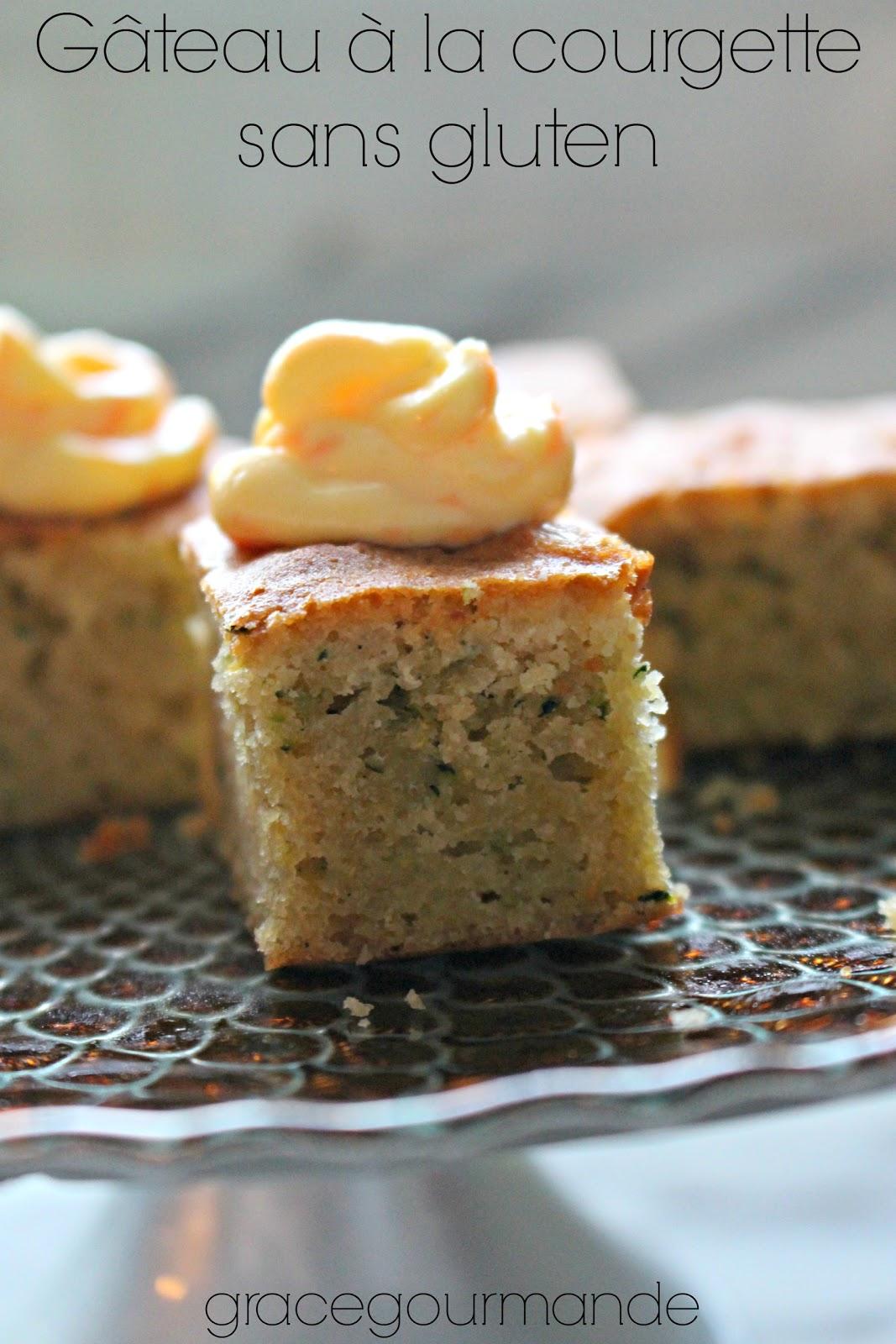 Les Gâteries Gourmandes De Graciela Gâteau à La Courgette Sans Gluten
