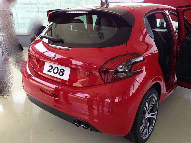 Novo Peugeot 208 THP Turbo Flex 2017