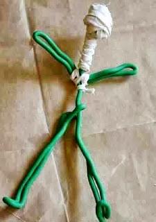Membuat Kreasi Kerajinan Tangan Dari Barang Bekas, Mini Mumi 4