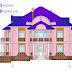 مخطط مشروع منزل عائلي كبير بتصميم مميز اوتوكاد dwg