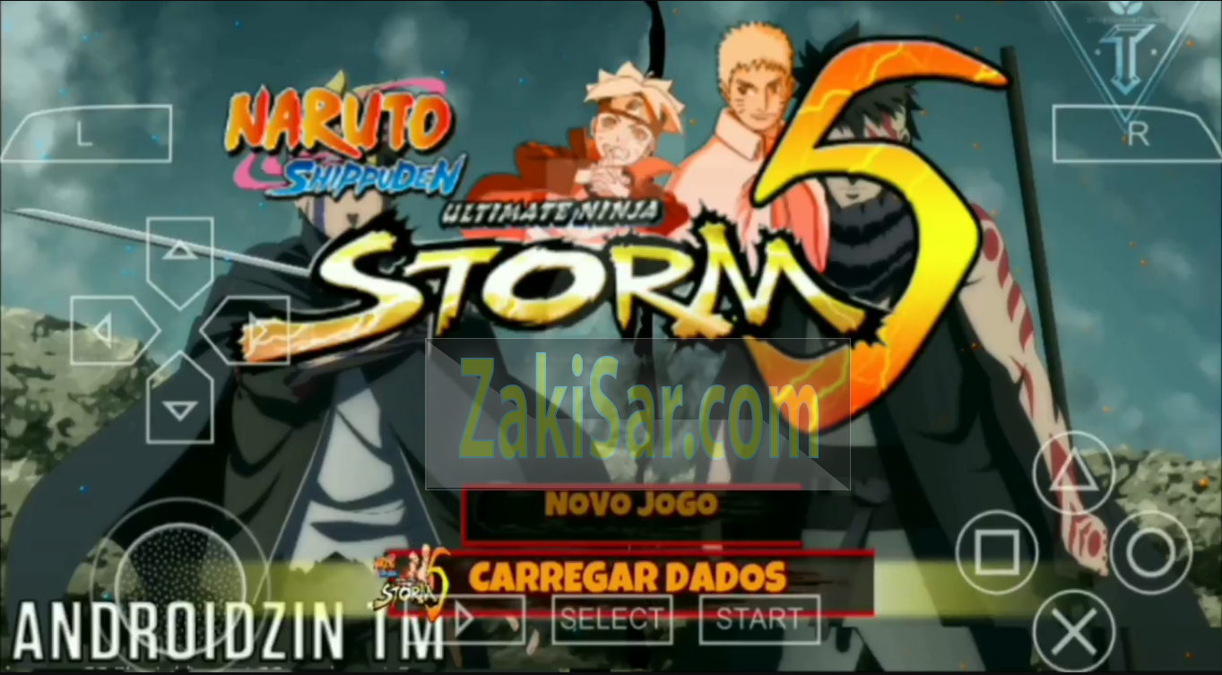Naruto Shippuden Ultimate Ninja Strom 5 Ppsspp Mod For Android Pc